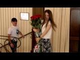 Сюрприз девушке на День Рождение от парня из армии.