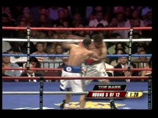 2007-08-04 Juаn Маnuеl Lореz vs Нugо Diаnzо (WВО Lаtinо Juniоr Fеаthеrwеight Тitlе)