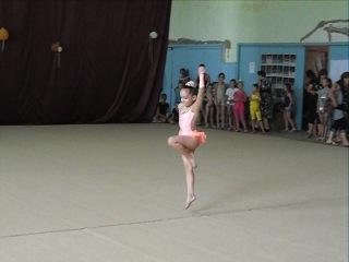 моя гимнастка выступление Евпатория 2013