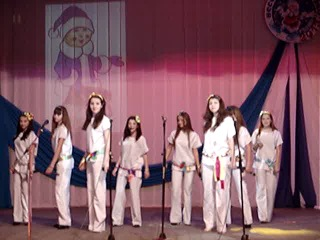 С.Родино,конкурс Весёлый Морозко 2013, н.в.с. Звезда- Бумажный змей (гала-концерт)