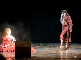 Asia Music дефиле: Лохматое нечто, Ринко (Косплей-команда броненосец ядозуб) - Takarazuka revue (Elisabeth 2005) - Der Tod, Elisabeth