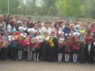 1 й раз в первый класс Лицей 155 2012год