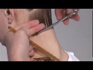 Боб с удлинённой челкой, pricheski-video.com