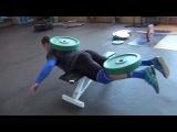 Klokov Dmitry & Rigert V   new exercise for back  4.07.2013 (1)
