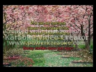 Лада Денс Один раз в год Видео караоке Создатель: Анна Попова