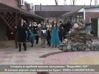 (Армянская Свадьба)Свадьба Мальвины и Валерика(Вход в ресторан)