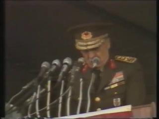 Devlet Başkanı Org. Kenan Evren'in İstanbul Konuşması (4.11.1982)