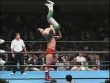 AJPW - Kenta Kobashi & Mitsuharu Misawa (c) vs. Akira Taue & Toshiaki Kawada (AJPW World Tag Team Title Match) (09.06.1995)