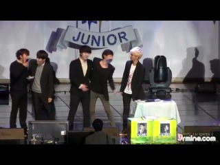 7th Anniverary SJ debut party - KISSING GAME (---▽---)~❤