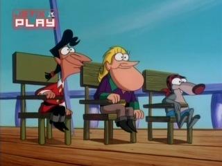 Бешеный Джек Пират1 сезон 12 серия  А - Школа пиратов