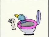 Японский мультик про то, как веселые звери ходят в туалет
