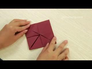 Как сделать красивое сердце из бумаги. vk.com/asia.handmade