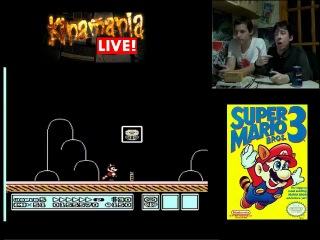 Kinamania Live! выпуск 8. Прохождение игры Super Mario Bros. 3 Супер братья Марио. Обзор на Денди, Dendy, картридж, прохождение, nes, 8 бит, приставка, игры, игра,