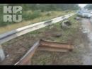 Эксклюзивное видео с места аварии, в которой погиб ректор ННГАСУ