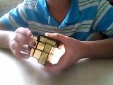 Сборка зеркального кубика рубика
