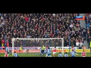 Брайтон - Арсенал 2:3 (Жиру 16,56, Барнс 33, Уллоа 62, Уолкотт 85)