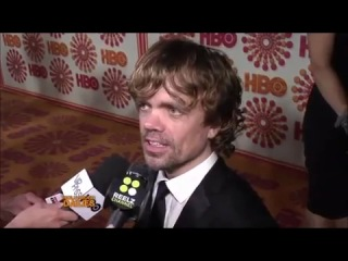 Джейсон Момоа, Peter Dinklage/Jason Momoa - 2011 Emmy's - Interviews Peter Dinklage/Jason Momoa