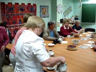 Встречаем друзей из общества дружбы Кондопога Херрлиберг в клубе Лоскутная жизнь 17 07 2013г