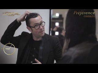 Окрашивание волос омбре -Мастер-класс Кристофа Робина