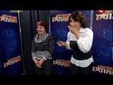 Украина мае талант 4 Кирил Тищенко и Таисия Сухина