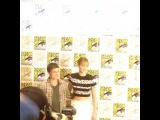Дженнифер и Джош на пресс-лайне Комик-Кона в Сан-Диего (20/07) #1