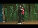 Ирина Звягина - учу пару танцевать вальс - свадебные танцы В Мире Танца