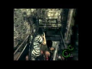Resident Evil 5. Серия 4 [Шахта]