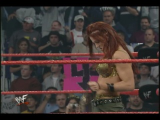 [My1Wrestling.ru] WWF Raw Is War 23.10.2000 - Lita vs Trish Stratus(Bra and panties match)
