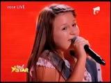 Румынская девочка поёт песню Пугачевой