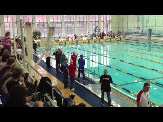 Первенство Москвы по плаванию 5-7 ноября 2013 Тумольский Игорь ДЮСШ№62
