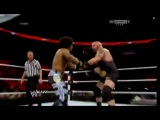 WWE Monday Night Raw 02.12.2013 -  R-Truth & Xavier Woods vs. Tons Of Funk (Brodus Clay & Tensai) (w/Cameron & Naomi)