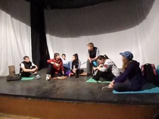 Контрольный урок по сценической речи 1 курса