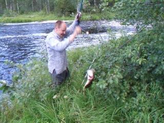 Рыбалка и отдых в Карелии. щука на живца.