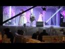 выступление Валерии и ее команды (Динар Кускильдин, Артур Алиев, Регина Зарипова) любительская съемка на фотоаппарат