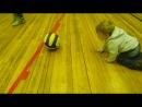 Юный волейболист