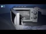 Фольга в микроволновке - физические опыты