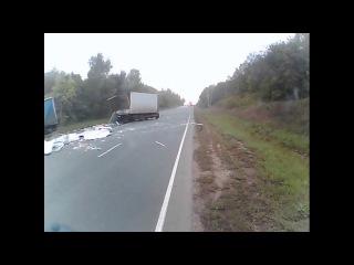 Страшная авария на М5 в Самарской области