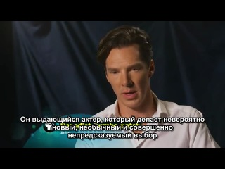 MASTERPIECE - Sherlock - Steven & Moffat & Benedict Cumberbatch (Рус. субтитры)