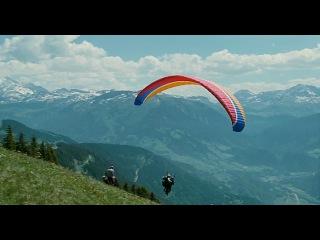 Полет на парапланах (фрагмент из фильма