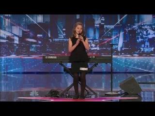 10-ти летняя девочка и ее удивительный голос