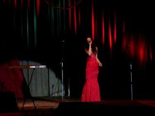 Татьяна Разухина на конкурсе Патриотической песни