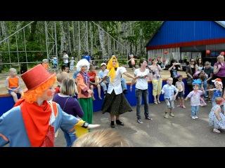 Игровая программа в парке города Кумертау 9 МАЯ 2012 фильм №-1