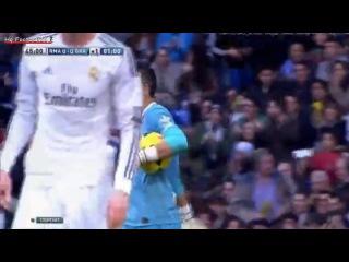 Невероятный удар Роналду через себя.