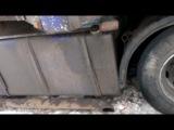 Scania 143H 420 V8 звук глушителя.