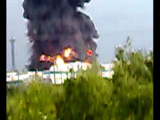 взрыв РВС - 20000 на ЛПДС «Конда»