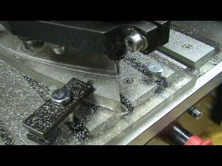 Обработка ЧПУ фрезером крепежей крыла