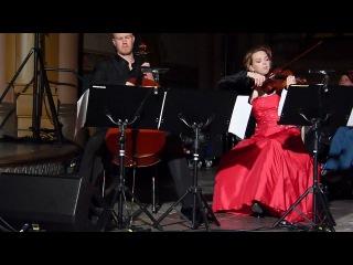 Mervi Myllyoja, Max Lilja Janne Hovi - 'Mökit nukkuu lumiset' @ Pori, Finland 19.12.2012