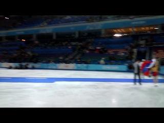 Победа России на олимпиаде 2014 в парном фигурном катании!