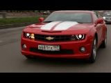 Test-Drive  Chevrolet Camaro SS | Тест-драйв Шевроле Камаро СС - Спортивный Журнал «Поршень»