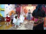 Праздник осени, подготовительная А группа, 13.11.2013 г. - танец с Бабой-Ягой